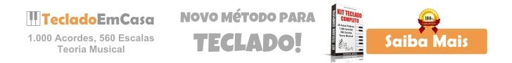 Kit Teclado Completo é um curso para aprender a tocar teclado.